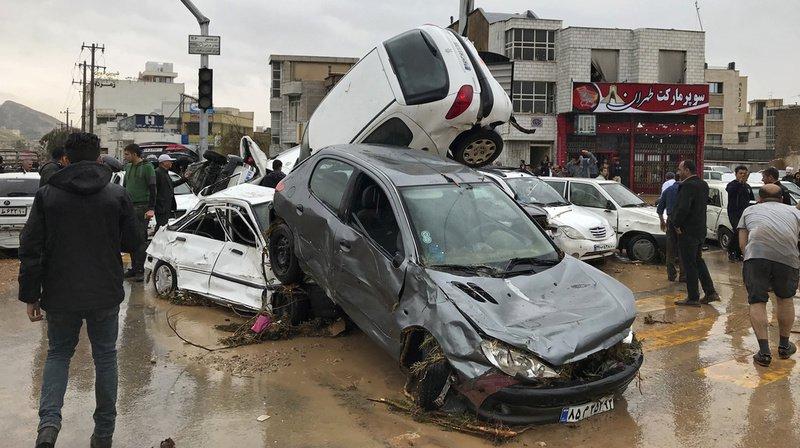 Iran: le bilan des inondations grimpe à 70 morts