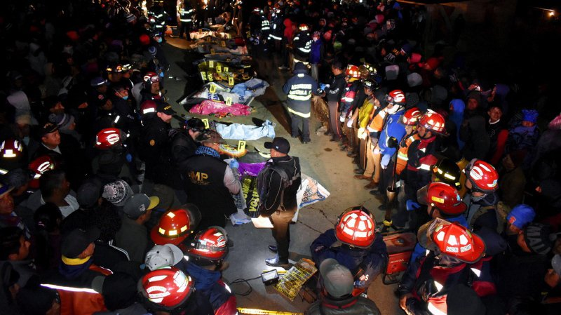 Guatemala: un camion heurte des piétons, au moins 18 morts, chauffard arrêté