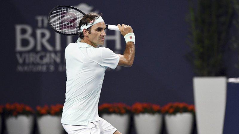 Tennis: Federer remporte avec aisance la finale du tournoi de Miami contre Isner