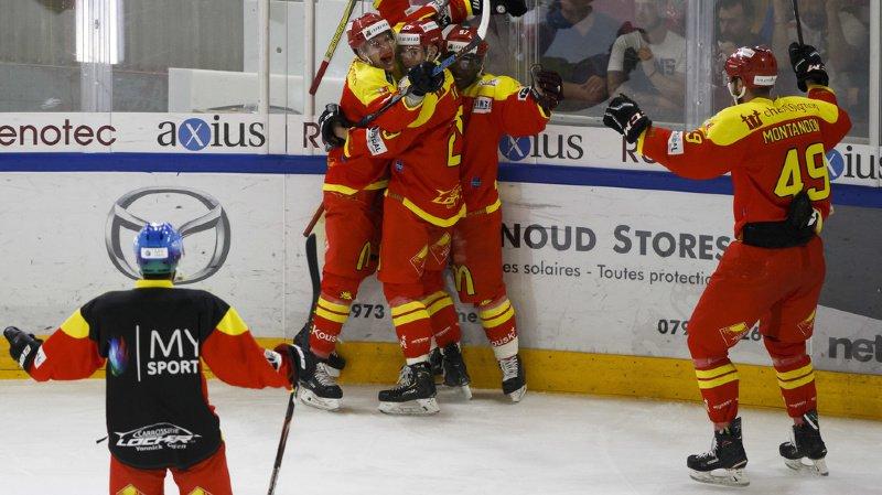 Le HC Sierre s'impose en finale de playoff face au Valais-Chablais