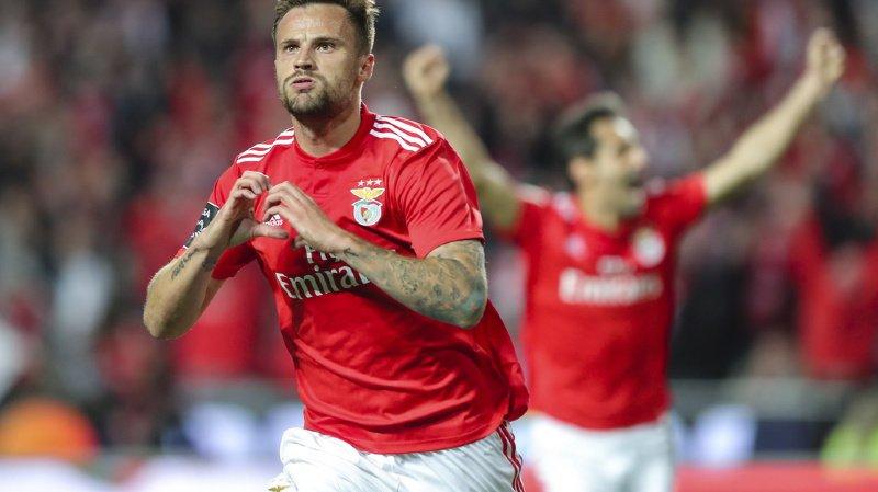 Football - Portugal: retour gagnant pour le Suisse Haris Seferovic avec le Benfica