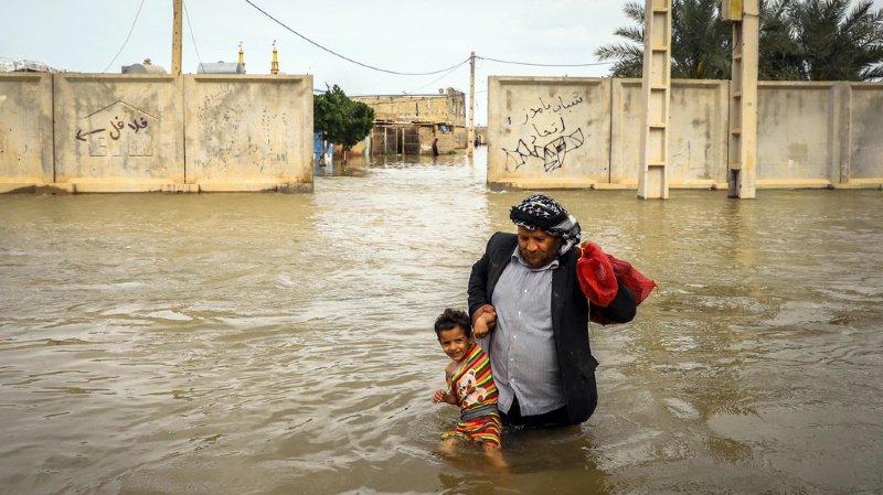 """Les Journées photographiques sont placées sous le thème """"flood"""" (inondation). Cette photo a été prise dans un village près de Ahvaz, en Iran, le 31 mars dernier."""