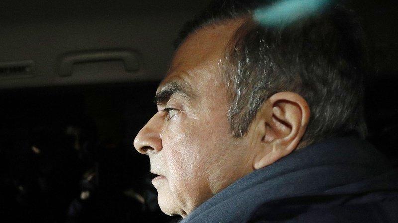 Japon: Carlos Ghosn à nouveau arrêté à Tokyo sur de nouveaux soupçons