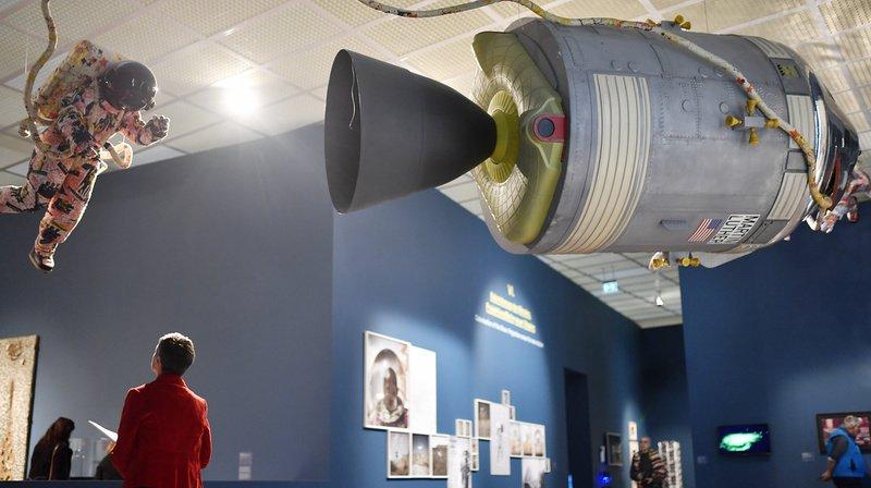 Une expo au Kunsthaus de Zurich pour fêter les 50 ans du premier pas sur la Lune
