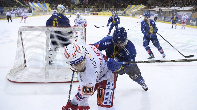 Davos a bouclé sa série 4-1 en dominant Rapperswil 3-1 à domicile.