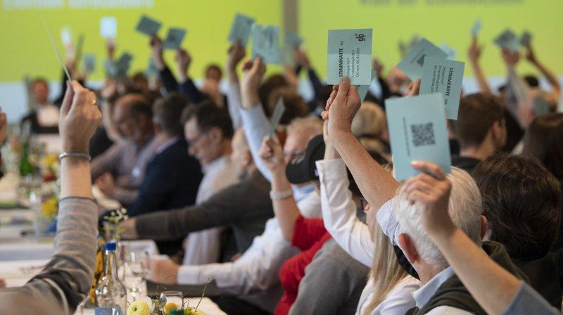 Les délégués des Verts suisses recommandent le ''Oui'' au durcissement de la loi sur les armes.