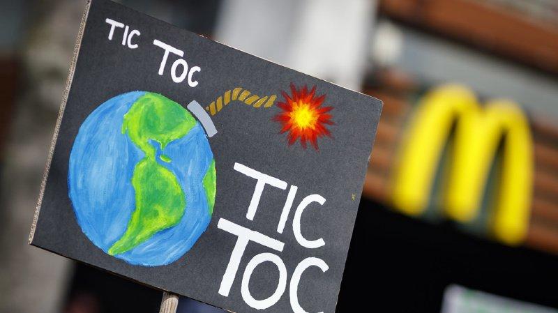 La mobilisation pour le climat ne se passe pas seulement dans la rue, mais de plus en plus sur les réseaux sociaux (Illustration).
