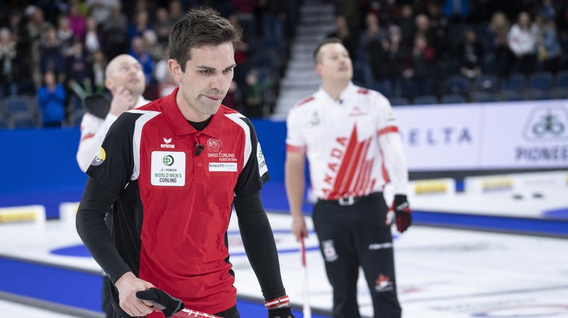 Curling – Mondiaux de Lethbridge: la Suisse s'incline face au Canada en demi-finale