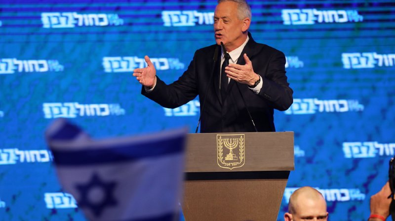 Israël: Benny Gantz, l'adversaire de Netanyahu, a reconnu sa défaite