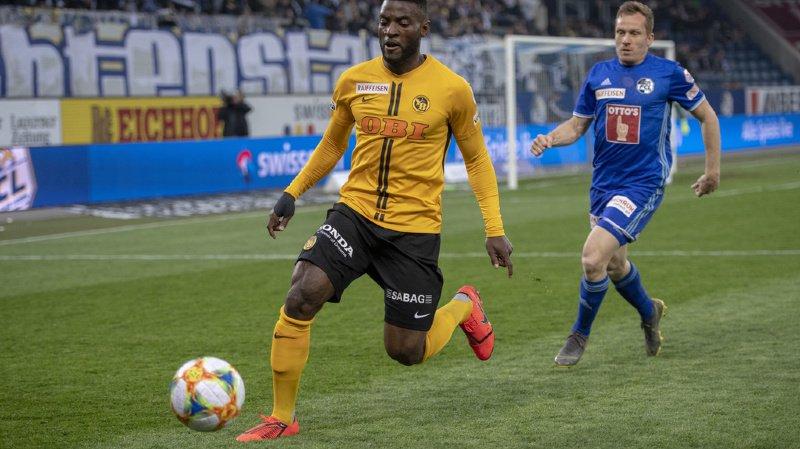 Jean-Pierre Nsame a permis aux Young Boys de poursuivre une série de... 60 matches de Super League avec au moins un but inscrit.
