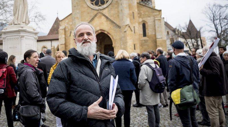 Le pasteur Norbert Valley devant le Ministère public neuchâtelois