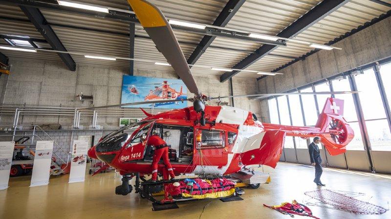 Sauvetage: la Rega en Suisse romande se dote d'un nouvel hélicoptère et un drone