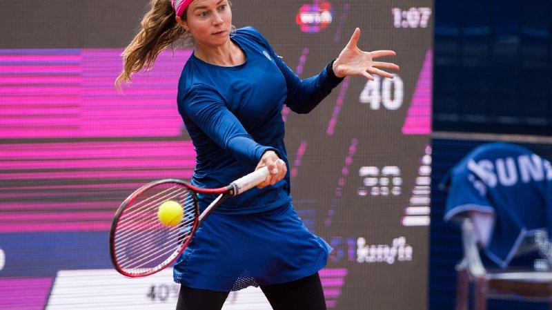 Comme Bacsinszky, Stefanie Voegele risque bien de devoir passer par les qualifications à Roland-Garros.