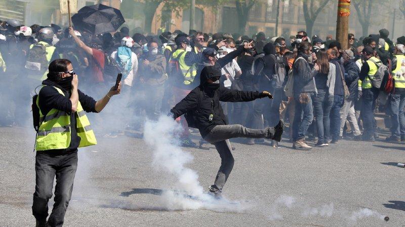 Acte XXII des «giletsjaunes» en France: tensions à Toulouse