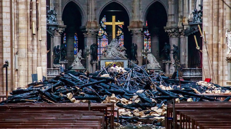 «La cathédrale Notre-Dame est un symbole pour tous les chrétiens», analyse le vicaire épiscopal de Neuchâtel