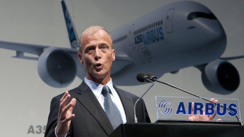 Thomas Enders, président d'Airbus, partira en retraite avec une enveloppe de plus de 41 millions de francs