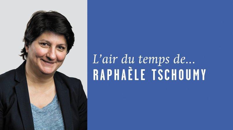 «Lignes vides», l'air du temps de Raphaèle Tschoumy