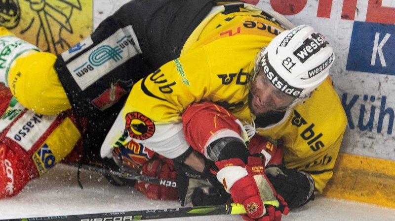 Est-ce que Berne (ici Thomas Rüfenacht, en jaune) viendra à bout de Bienne et Anssi Salmela demain dans son antre?