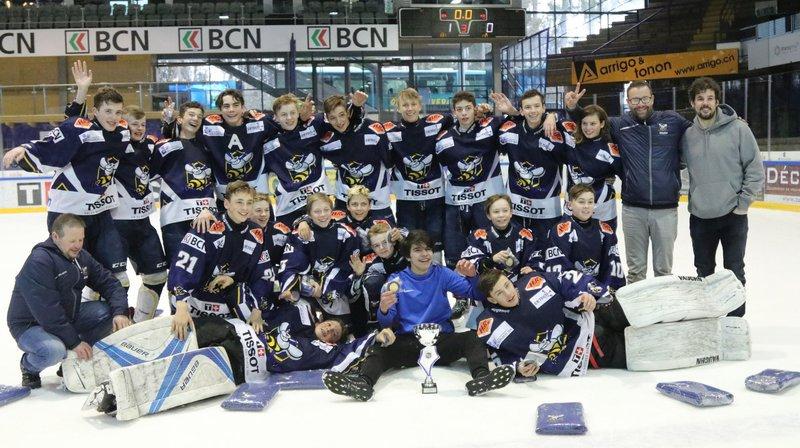 Les minis du HCC remportent leur tournoi international après dix ans d'attente