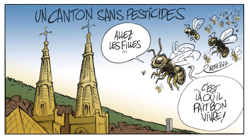 Un des défis proposés: Neuchâtel, le premier canton suisse sans pesticides