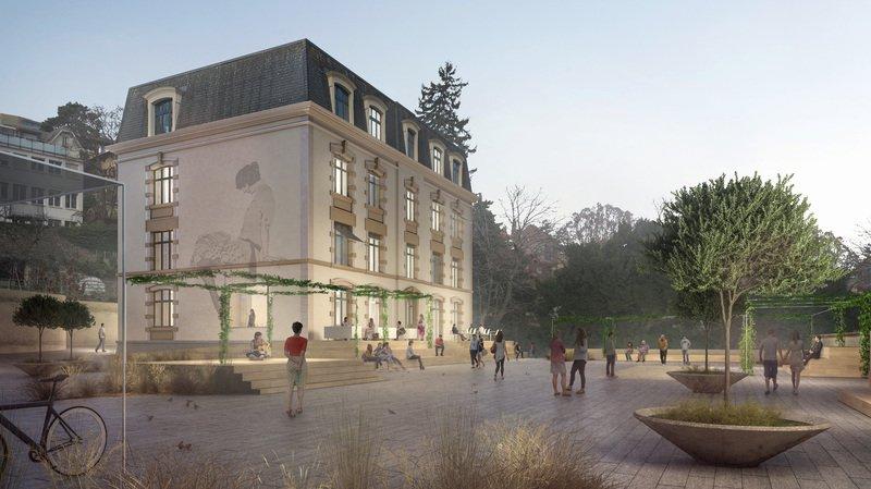 Projet sélectionné pour l'auberge de jeunesse de Neuchâtel