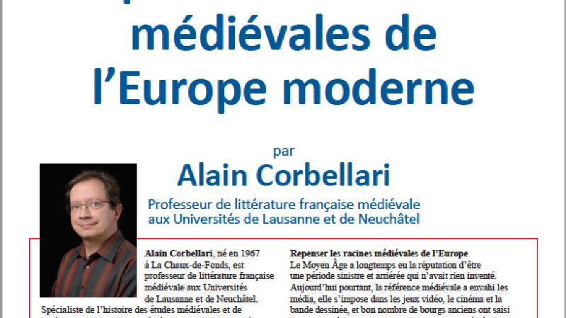 Conférence: Racines médiévales de l'Europe moderne