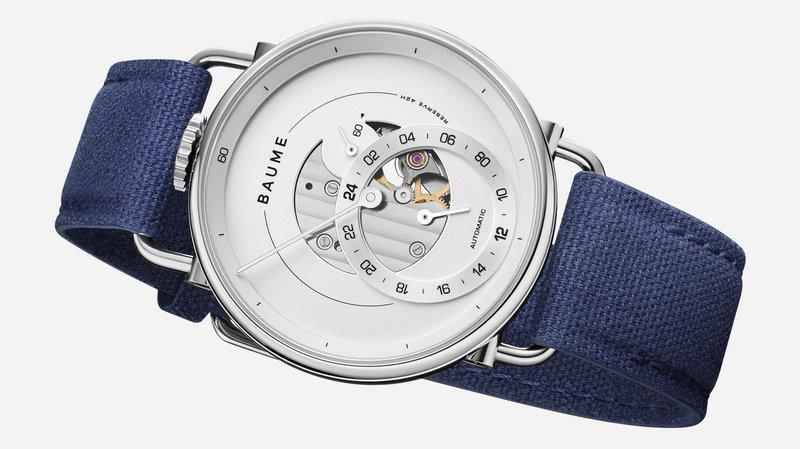 Lancée sur le web, la marque horlogère Baume ne peut pas se passer des boutiques