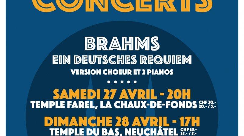 Ein deutsches Requiem - Choeur et 2 Pianos