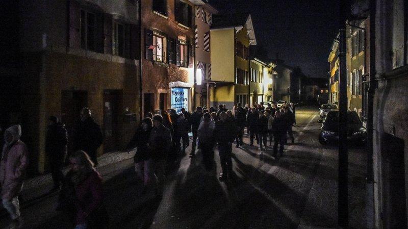 La commune de Corcelles-Cormondrèche a cherché la nuit