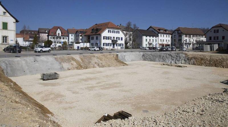 Le futur complexe Coop au Noirmont sortira de terre d'ici à 2021