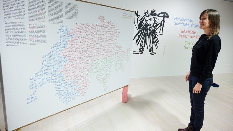 """Avec """"Helvétismes"""", on apprend à parler suisse au Centre Dürrenmatt"""