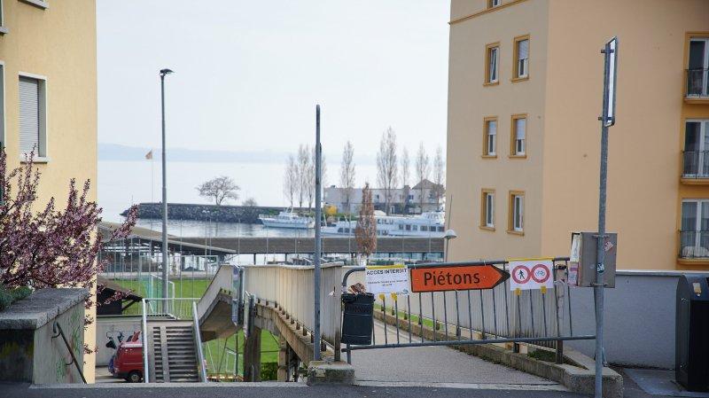 La passerelle du Nid-du-Crô, à Neuchâtel, doit être rénovée