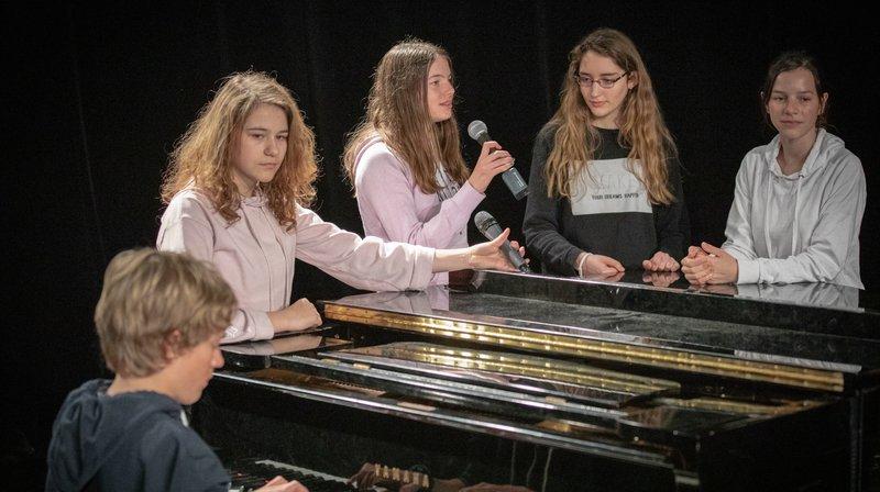 Les «Jeunes talents» vont se confronter à un jury formé d'artistes.