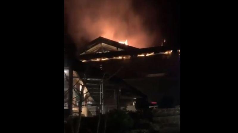 L'incendie n'a fait aucun blessé