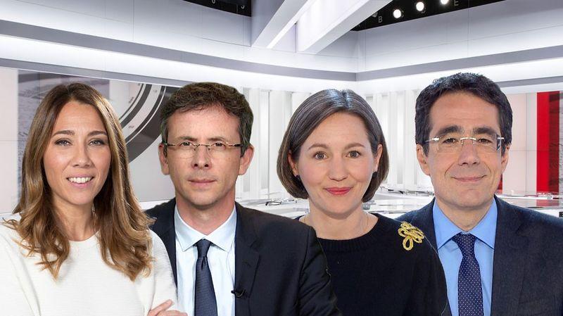 RTS: Philippe Revaz et Claire Burgy remplaceront Darius Rochebin à la présentation du 19h30