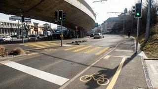 Le giratoire de Vauseyon dans le collimateur de Pro Vélo