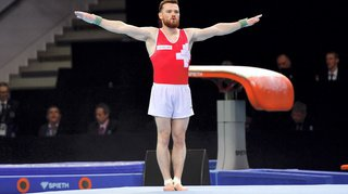 Gymnastique – Championnats d'Europe: le Bernois Benjamin Gischard «chocolat» de l'épreuve au sol
