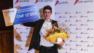 Alexandre Balmer désigné meilleur espoir suisse 2018