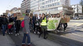 ActeIV pour le climat à La Chaux-de-Fonds