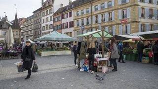 Neuchâtel: ce qu'ils pensent de l'extension du marché