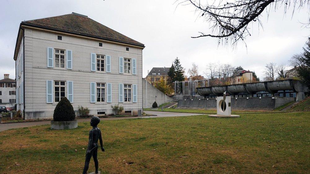 Le parc des Musées, avec, notamment, le Musée d'histoire.