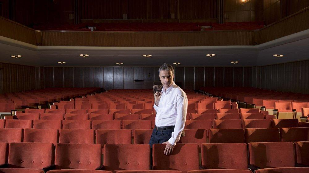 Frédéric Eggimann, l'ex-administrateur de la Société de musique de La Chaux-de-Fonds. Archives:  David Marchon.