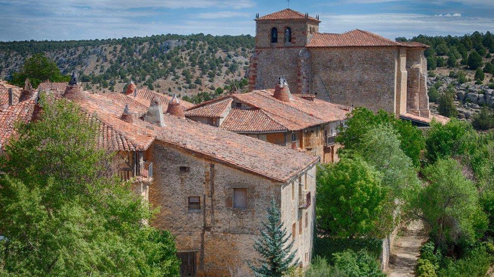 Au centre de l'Espagne, de nombreuses régions ont une densité de population au taux plancher. C'est le cas de la province de Soria.
