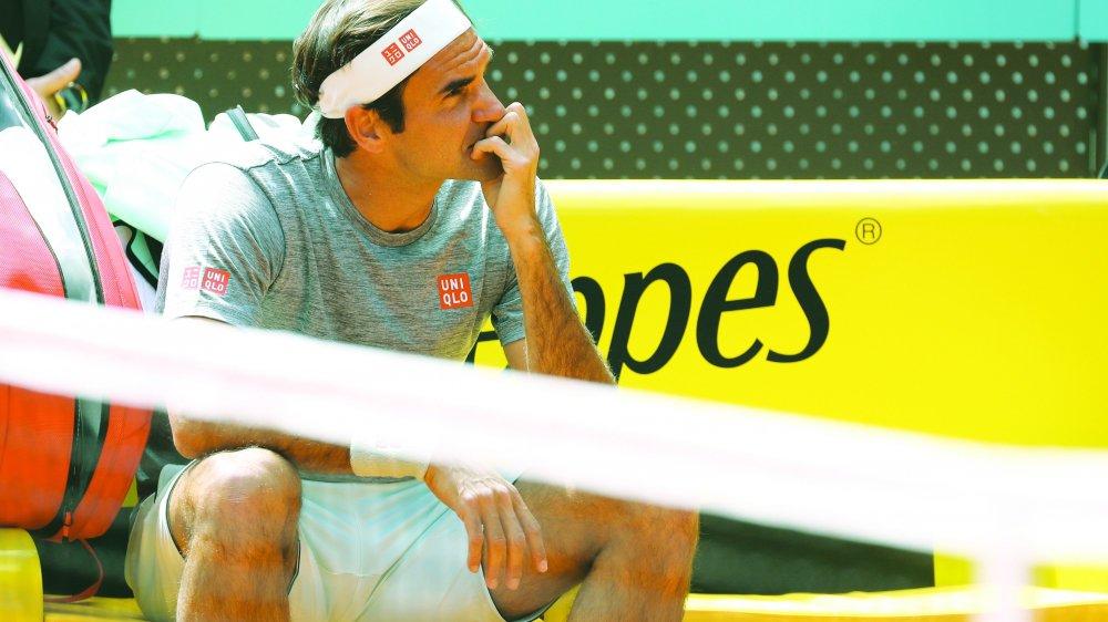 Roger Federer de retour sur terre battue, un événement.