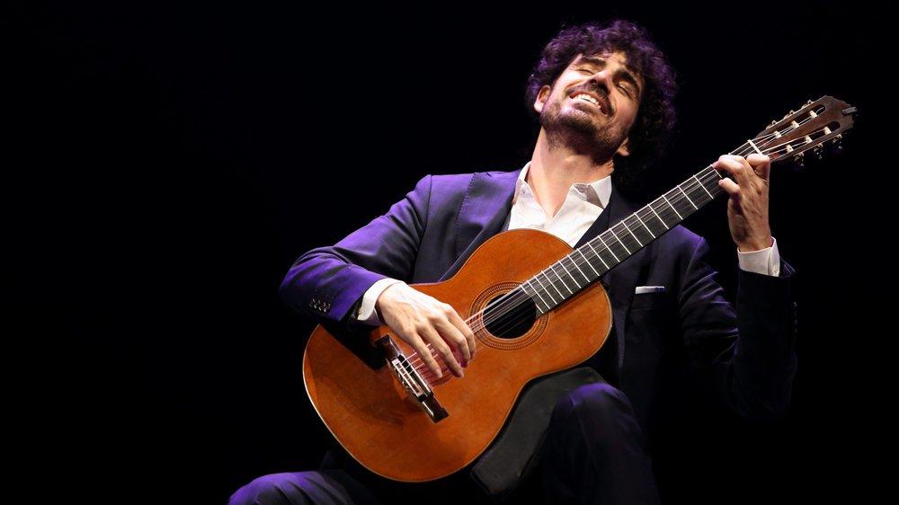 Pablo Sáinz Villegas est surnommé «l'âme de la guitare espagnole».