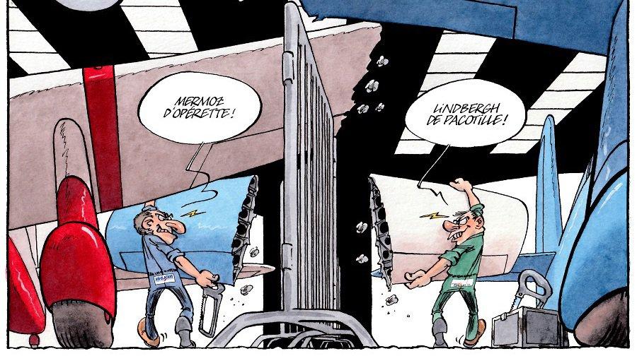 La Chaux-de-Fonds: turbulences à l'aéroport des Eplatures