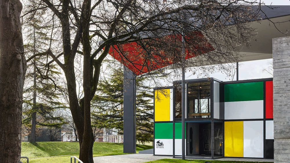 A Zurich, le Pavillon Le Corbusier a été entièrement restauré.