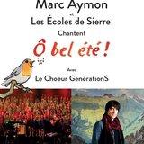 """Marc Aymon et les écoles de Sierre chantent """"Ô bel été !"""""""