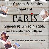 Les cordes censibles chantent Paris