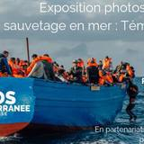 Exposition photos de SOS méditérannée